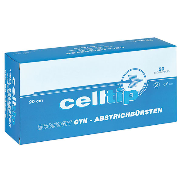 Celltip Abstrichbürsten einzeln verpackt