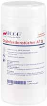 Desinfektionstücher alkoholfrei Dose + Tücher