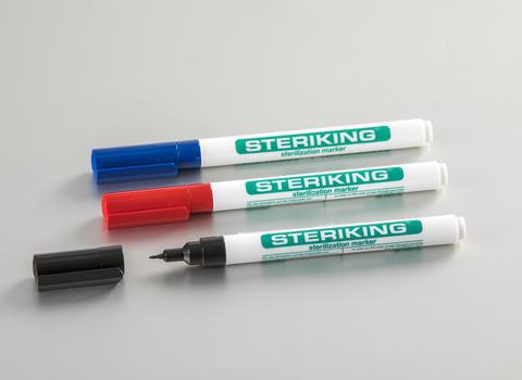Wipak Steriking Sterilisationsmarker Beispiele