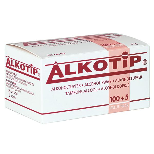 Alkotip® Alkoholtupfer Standard Box