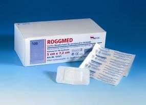 ROGGMED steriler Wundverband,, 5cm x 7,2cm, 100 Stück