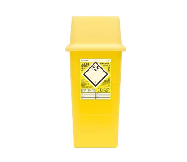 Sharpsafe 7 Liter hoch