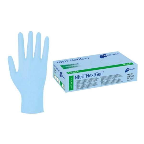 Meditrade Nitril NextGen blau, Box 100 Stück