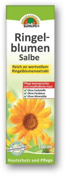 SUNLIFE® Ringelblumen Salbe, Tube 100ml