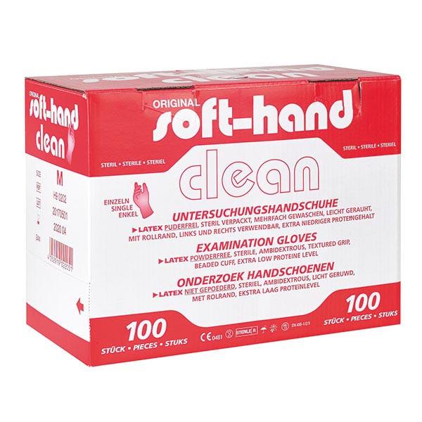 softhand latexhandschuhe einzeln steril