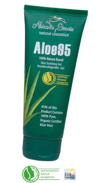 Aloe95 – hautpflegendes natürliches AloeVera Gel, 100 ml