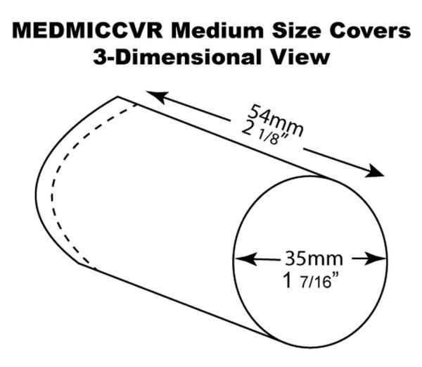 MEDMICCVR mikrofone-cover stabmikrofone
