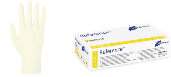 Reference Latexhandschuhe gepudert
