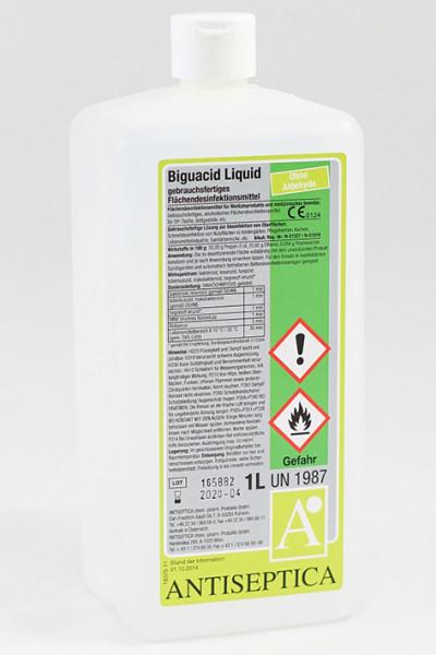 Biguacid Liquid 1 Ltr. Flächenschnelldesinfektion