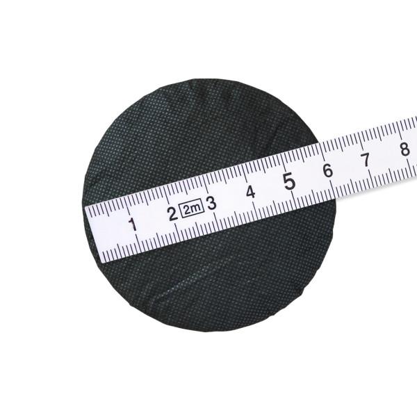 Hygieneschutz fuer Kopfhoerer bis 6 cm schwarz