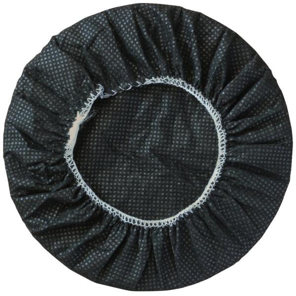 schwarze Hygieneschutzbezüge für Kppfhörer