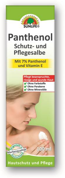 SUNLIFE® Panthenolsalbe, Tube 100ml