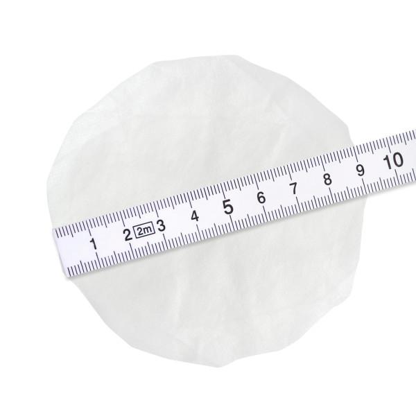 Hygieneschutz fuer Kopfhoerer bis 9 cm weiß