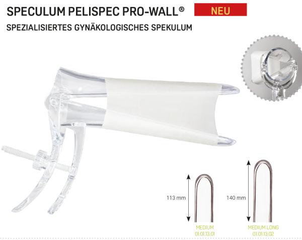 Pelispec Pro Wall ® - Einmalspekula steril, 1St.